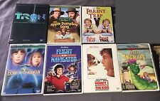 Lot of 8 Disney Live Action Films! Witch Mountain, Flight of the Navigator, Tron