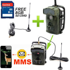 Extra Antenna + 8GB 12MP Ltl Acorn 5310WMG MMS Game Hunting Deer Camera No Flash