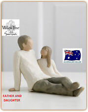 FATHER AND DAUGHTER Demdaco Willow Tree Figurine By Susan Lordi BRAND NEW IN BOX