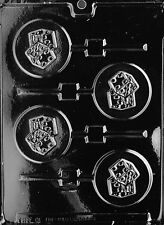 DICE DIE LOLLY POP MOLD Chocolate Candy gambling craps atlantic city las vegas