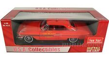 SUN STAR 1964 FORD GALAXIE 500 FIRE DEPT CAR 1/18 RED