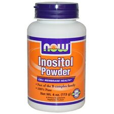 Now Foods, inositolo in polvere, 4 OZ (113 G)