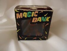 "Magic Coin Holder Piggy Bank Basketball ""Floating"" Center Great for B-Ball Fans"