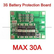 3S Cell 30A Li-ion Lithium Battery 18650 Charger Battery Protection Board