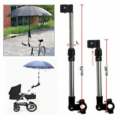 Adjustable Travel Bicycle Pram Puschair Golf Stroller Umbrella Stand Holder