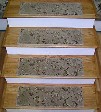 """154197 - Rug Depot Premium Stair Treads - Set of 13 Treads 26"""" x 8"""" - Taupe"""