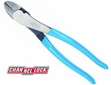 "Channellock 449 9.5"" High Leverage Curved Diagonal Lap Joint Cutting Pliers"