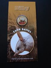 2009 BILBY Frosted Uncirculated $1 coin in card.Only 17,950 made! Lowest mintage
