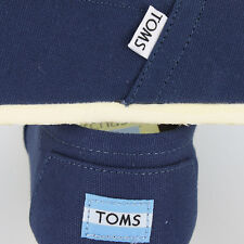Toms Classic Canvas Navy 1002A07 Mens US size 9, UK 8