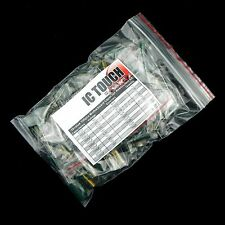 10value 100pcs Electrolytic Radial Motherboard Capacitor Assortment Kit