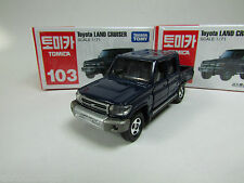TAKARA TOMICA  #103 TOYOTA  LAND CRUISER 1/71, WITH TRACK NUMBER