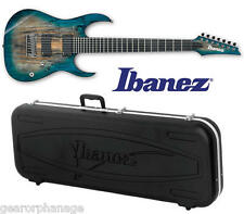 Ibanez RGIX27FE Iron Label Foggy Stained Blue FSL Guitar NEW + Case! RGIX27FESM
