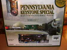 Lionel 6-83659 Pennsylvania Keystone Special Steam Train Set O-27 LionChief MIB
