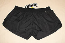Bonds Ladies Black Sports Active Running Gym Shorts Size M New CY86I