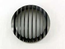 "BLACK 5 3/4"" ALUMINUM HEADLIGHT GRILL COVER F HARLEY SPORTSTER XL 883 1200 04-14"