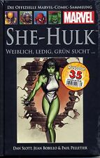 Officiel MARVEL Bande dessinée recueil 35 (37): she-Hulk #1 HC HACHETTE COLLECTION