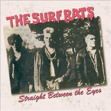 SURF RATS Straight Between The Eyes CD - 1980s Psychobilly - NEW