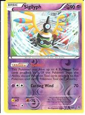 POKEMON BLACK AND WHITE PLASMA BLAST - SIGILYPH 41/101 REV HOLO