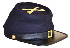 American Civil Indian War US Cavalry Kepi Cap Hat & Badge XLarge Size 60/61cms