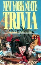 NEW YORK STATE TRIVIA paperback Book by MICHAEL MENDRICK ~ copyright 1997