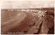 CLIFTONVILLE KENT UK FORENESS BAY PHOTO POSTCARD