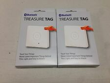 LOT OF 2 NOKIA TREASURE TAG WS-10 MINI PROXIMITY SENSOR WITH BLUETOOTH 4.0 NEW