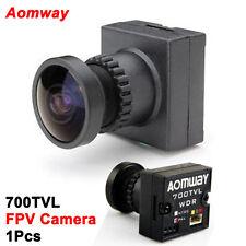 """Aomway 700 Fils TVL HD 1/3"""" CMOS 2.1 Wide Angle FPV Pour RC Quad Camera PAL"""