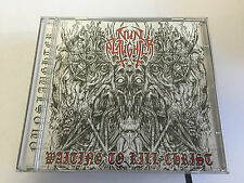 Nunslaughter Waiting to Kill Christ 2008 V NR MINT CD 8712667000621