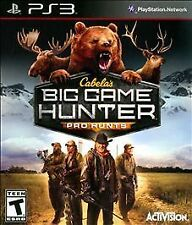 New Sealed PlayStation 3 (PS3) Cabela's Big Game Hunter Pro Hunts Game RARE
