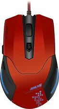 Speedlink Aklys Gaming Mouse, Black-Red