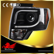 For 2012-2014Ford F150 Raptor SVT Headlights with LED DRL and Bi-xenon Projector