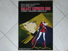 GALAXY EXPRESS 999 E QUEEN EMERALDAS ANIME POSTER GINGA TETSUDO JAPAN ANIMATION