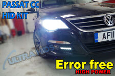 VW PASSAT CC HID XENON LIGHTS CONVERSION KIT H7 6K 8K 43k 10k canbus error free