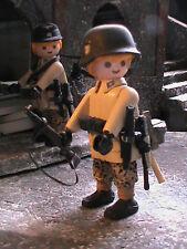 PLAYMOBIL CUSTOM SOLDADO 31 GREN DIVISION (AUSTRIA-1945) REF-0545 BIS