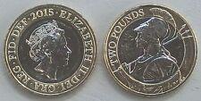 """Großbritannien / Great Britain 2 Pounds 2015 """"Britannia"""" unz."""