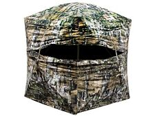New Primos Double Bull Deluxe Wide Door Ground Blind Truth Camo 60061