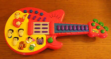 """2004 The Wiggles Touring Guitar Toy Works Plays Childrens 16"""" Long"""