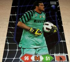 CARD ADRENALYN CALCIATORI PANINI JULIO CESAR INTER CALCIO FOOTBALL SPECIAL