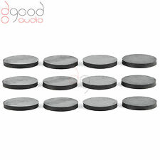 12 X SORBOTHANE 30 MM DISCS ISOLATION & DAMPING FEET SPEAKERS HI-FI TURNTABLES
