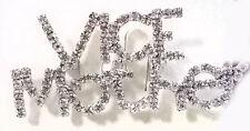 VICE MOTHER CLEAR CRYSTAL PIN BROOCH FOR RED HAT LADIES OF SOCIETY