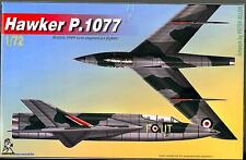 Unicraft Models 1/72 HAWKER P.1077 British Twin Engine Jet Fighter Prototype