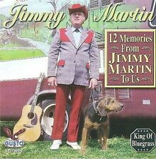 12 Memories From Jimmy Martin to Us- Jimmy Martin, CD