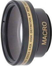 Wide Lens for Sony DCRDVD910E DCR-SR30 DCR-SR30E DCRSR220E DCR-TRV15E HDR-XR105E