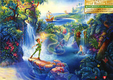 "Jigsaw Puzzles 500 Pieces ""Peter Pan's Magical Forest"" / Disney / Tenyo"