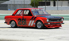 1970 Datsun 510 Sedan  (Nissan) Vintage Classic GT Race Car Photo (CA-0820)