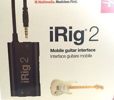 IK MULTIMEDIA IRIG 2 Mobile GUITAR INTERFACE @ CarlingfordMUSIC