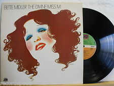 ★★ LP - BETTE MIDLER - The Divine Miss M - UK ATLANTIC 1972 - Record in NM