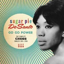 SUGAR PIE DESANTO Go Go Power CHESS SINGLES NEW NORTHERN SOUL 60s SOUL CD (KENT)