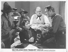 VIRGINIA CITY original lobby still photo HUMPHREY BOGART/RANDOLPH SCOTT/PAUL FIX