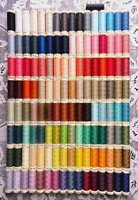 130 NEW Different colors GUTERMANN 100% polyester sew-all thread 110 yd spools